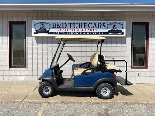 Blue Club Car