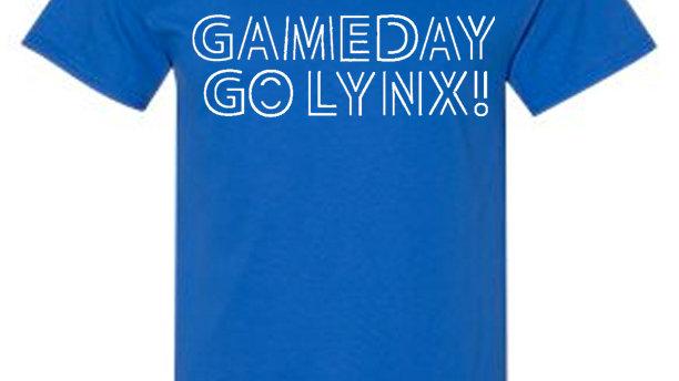 Game Day Go LYNX tee