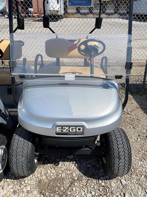Grey Gas EZGO Golf Cart
