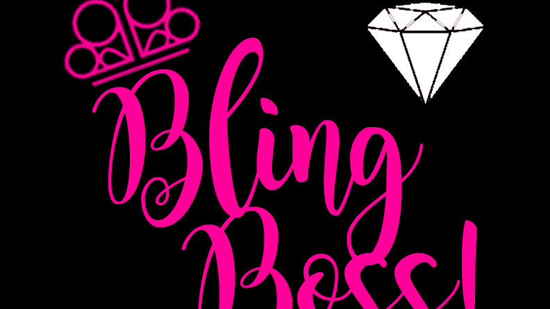 Bling Boss Decal Diamond