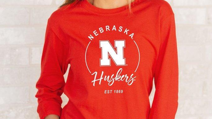 Nebraska Huskers Long Sleeve