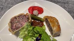 Pork pie maison (mini pâté en croûte traditionnel Outre-Manche)