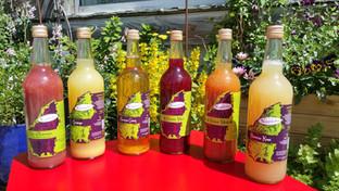 Les jus de fruits du Chalet d'Ambre proviennent de Nectardéchois