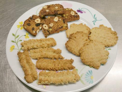 Biscotti italiens, gingernuts anglais & spritz lorrains