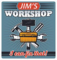 Jim's Workshop Logo