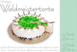 Himbeer-Waldmeistertorte