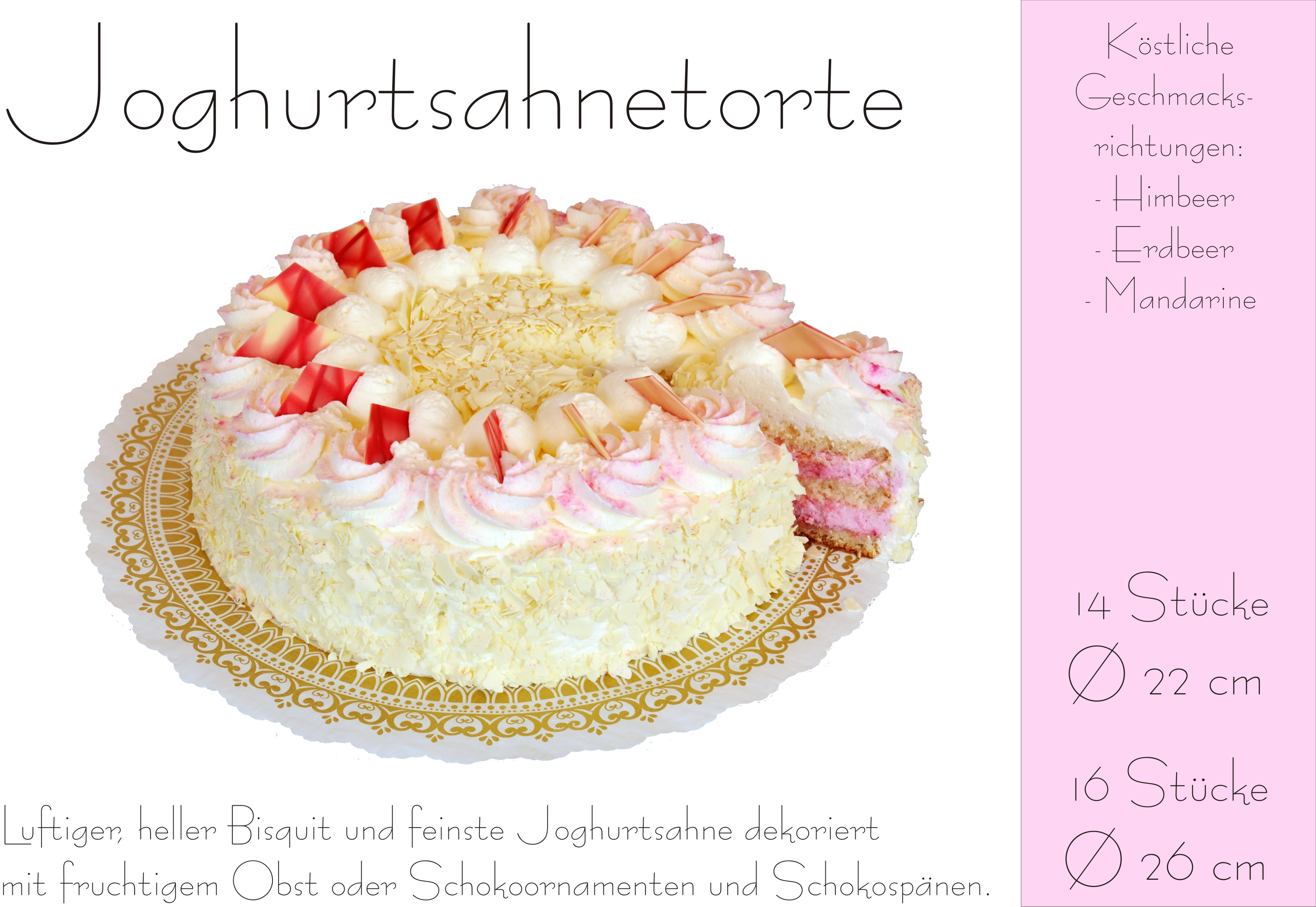 Joghurtsahnetorte normal