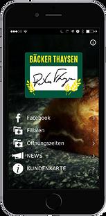 Bäcker Thaysen App