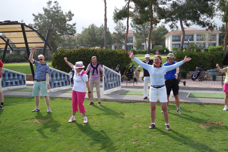 Golfskola mjuka armar