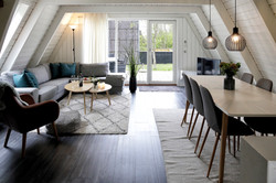 Himmerland stuga vardagsrum