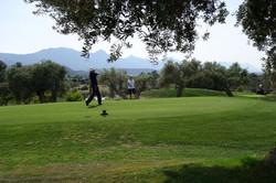 Golfskola utslag