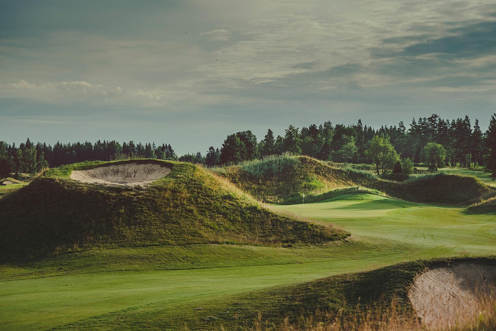Sand golfbana4