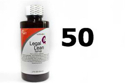 Legal Lean Syrup - ACT 50 Bottles