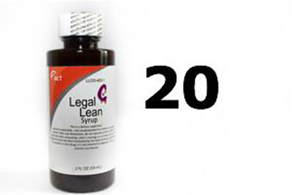 Legal Lean Syrup - ACT 20 Bottles