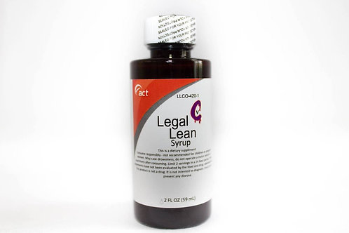 Legal Lean Syrup - Act