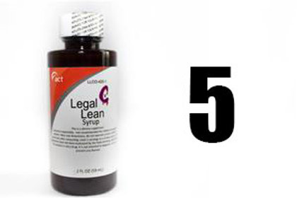 Legal Lean Syrup - ACT 5 Bottle