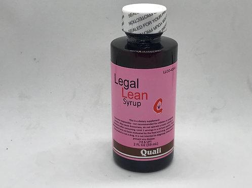 Legal Lean Syrup - Quali