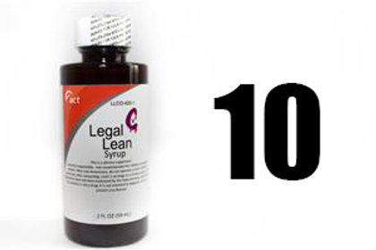 Legal Lean Syrup - ACT 10 Bottles