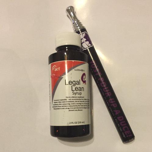 Legal Lean Syrup - Act W/ Hookah Pen
