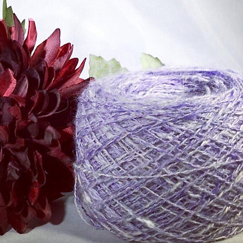 Hand Spun Fingerling Weight Yarn - 400 yards