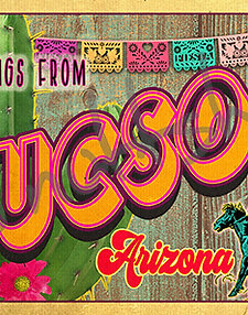 Greetings from Tucson Arizona Postcard