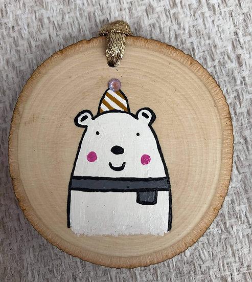 Polar Birthday Bear