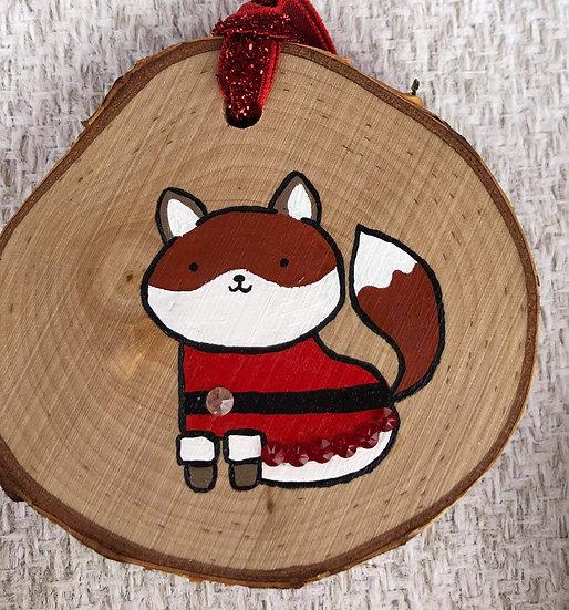 Santa Suit Fox