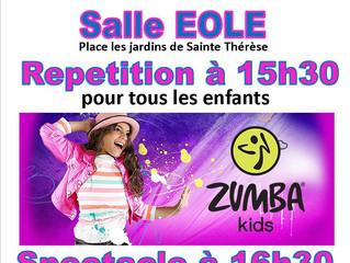 ZUMBA Kids : ça marche ! Non, ça danse !