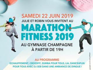 Marathon Fitness ? D'la bombe by SFD !