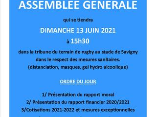 ASSEMBLEE GENERALE SFD (réservée aux adherents)