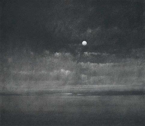 Charcoal Moon II