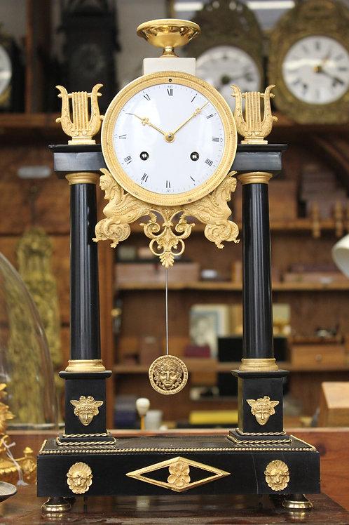 Horloge Portique d'époque 1er Empire
