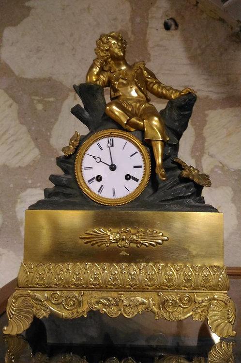 """Horloge """"Le penseur"""""""