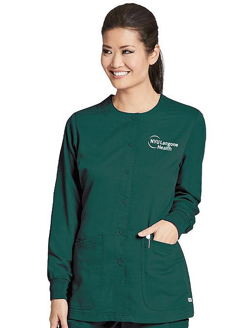 Grey's Anatomy™ Classic Women's Round Neck Warm Up Scrub Jacket