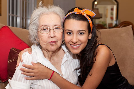 Boulevard Home Care Caregiver with patient