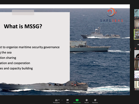 Workshop Maritime Security Sector Governance (MSSG): The Role of Security Sector Actors in East Asia