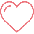 hjärta tecknat
