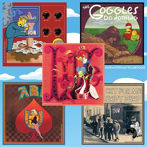 Boogie Box Set 5 Pack