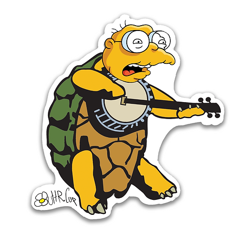 Brown-Eyed Moleman Sticker