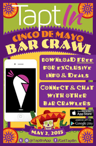 TaptIn Cinco De Mayo Flyer