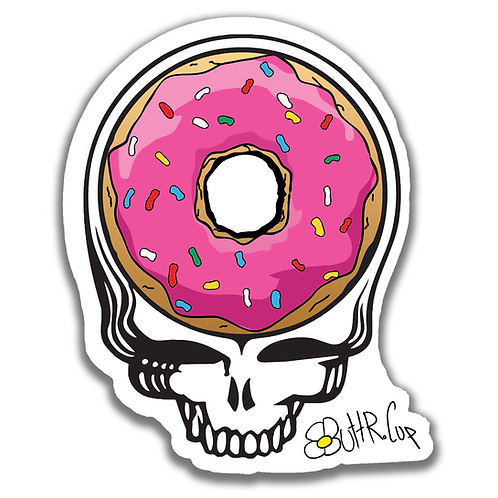 Steal Your Donut Sticker