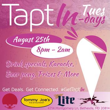 TaptIn Tuesdays Flyer
