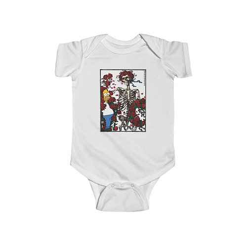 In and Out of the Garden He Goes Infant Jersey Bodysuit