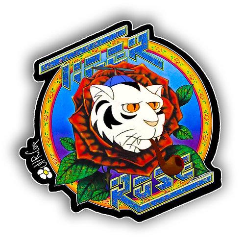 """Tigah Rose 3"""" Sticker (2pk)"""