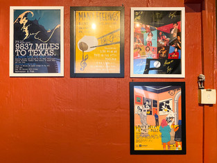 Gorgeous posters on the wall
