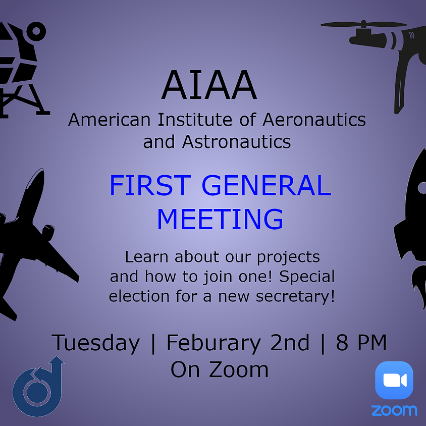 First General Meeting of Spring 2021