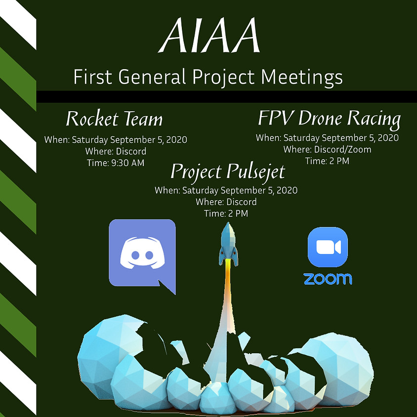 First General Project Meetings