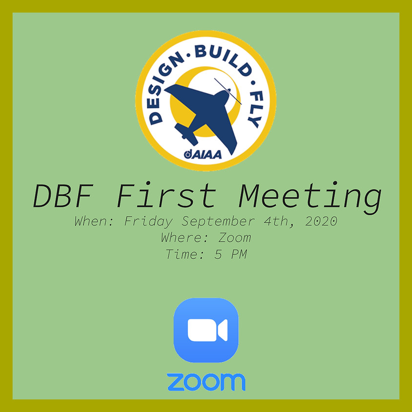 Design Build Fly First meeting