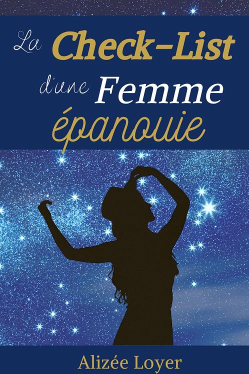 """Le Livre """"La Check-List d'une Femme épanouie"""""""