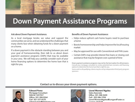 Get Down Payment Support to Buy Your House in 2021
